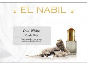 El Nabil - Oud White - Parfémový olej - Unisex
