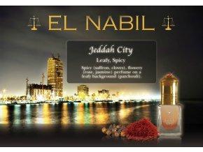 Jeddah City parfémový olej