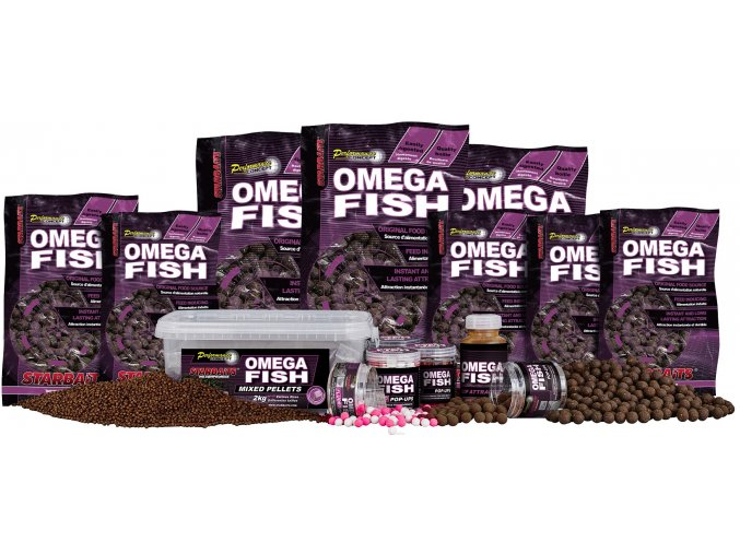 Boilies PC OMEGA FISH (VARIANT 24 mm)