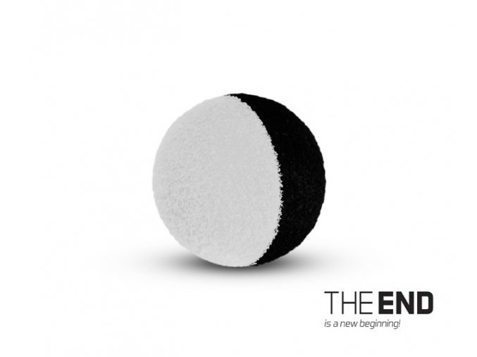 THE END ZIG RIG čierno-biele / 10ks (VARIANT 12mm)