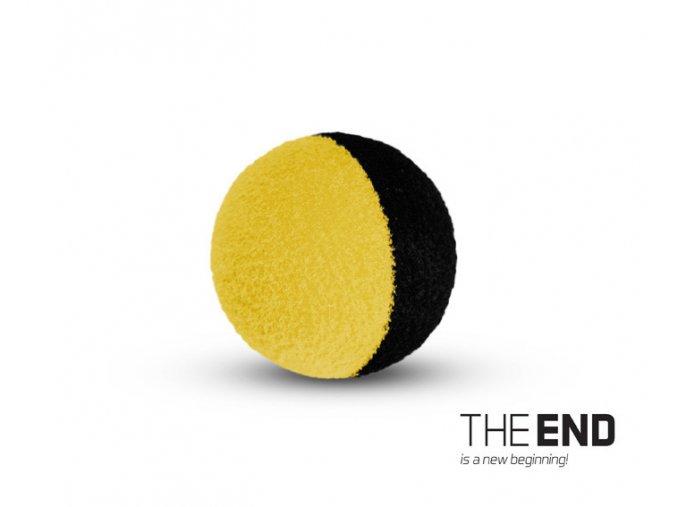 THE END ZIG RIG čierno-žlté / 10ks (VARIANT 12mm)