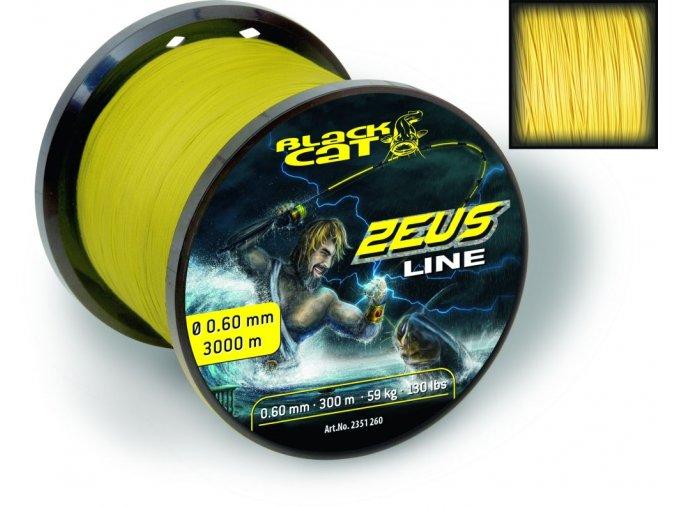 11618 black cat snura zeus line 450m 59kg 130lbs 0 60mm