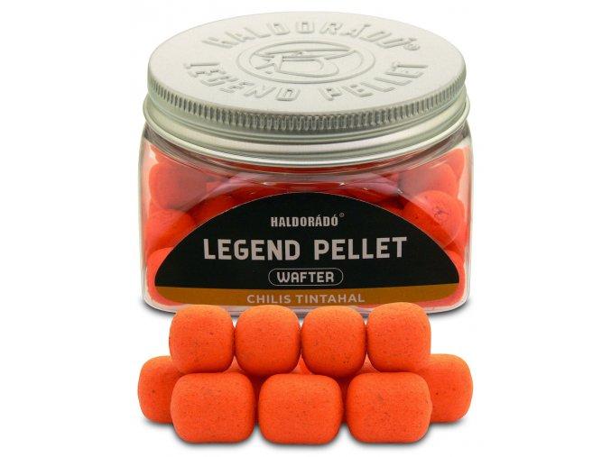 Haldorado Legend Pellet Wafter 12,16 mm (príchuť Chili Squid)