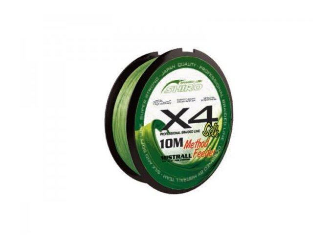 MISTRALL SILK X4 METHOD FEEDER 10M (VARIANT 0,06mm)