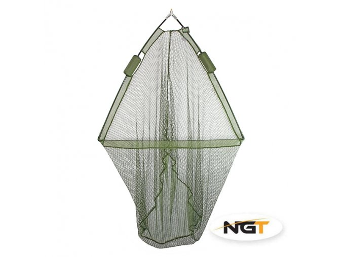 2521 1 ngt tackle ngt podberakova hlava specimen net 42 with dual net float system