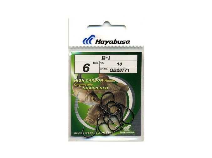 HAYABUSA HOOKS MODEL K1 (Veľkosť 4)