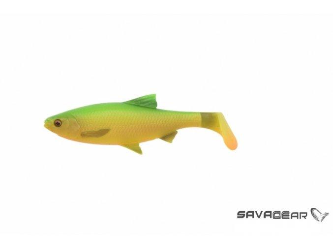 Savage Gear Gumová Nástraha Plotica 3D River Roach 2 ks (Farba Firetiger, Veľkosť 22 cm-125 gr)