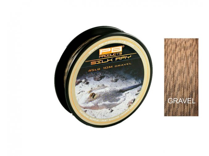 PB Products Silk Ray (Farba GRAVEL, Sila 45 lb)