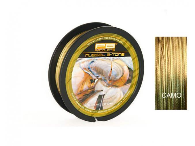 PB Products Mussel 2-tone - 20m (Sila 45 Lb)