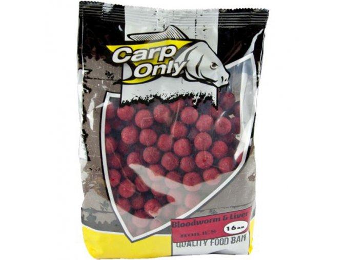 Carp Only Boilies - 1 kg (priemer 20 mm, príchuť BLOODWORM & LIVER)