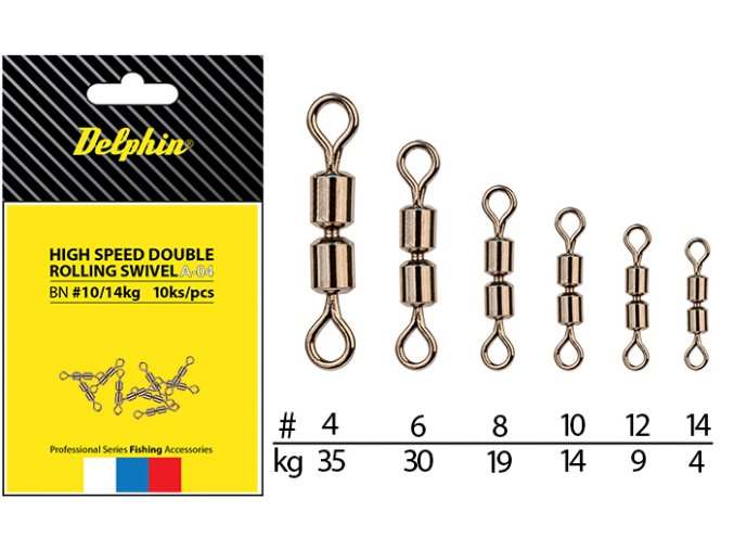 Hi speed double rolling swivel A-04 (VARIANT BN/8)