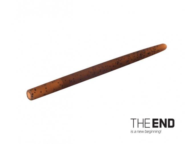 Tvrdá gumička proti zamotaniu THE END / 10ks (Veľkosť 6cm)