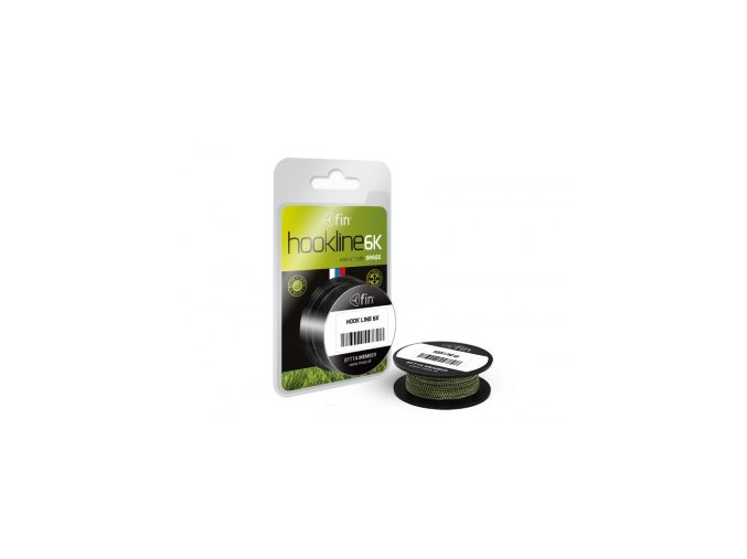 fin HOOKLINE 6K 20m / grass (Sila 15 lb)