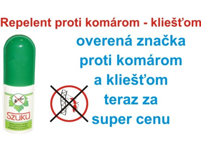 8172 szuku repelent spray 50ml