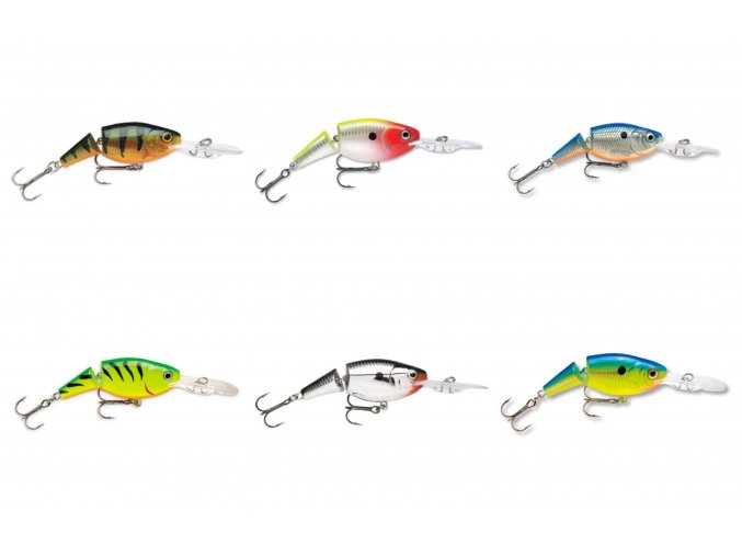 Jointed Shad Rap 09 (VARIANT Clown Gold)