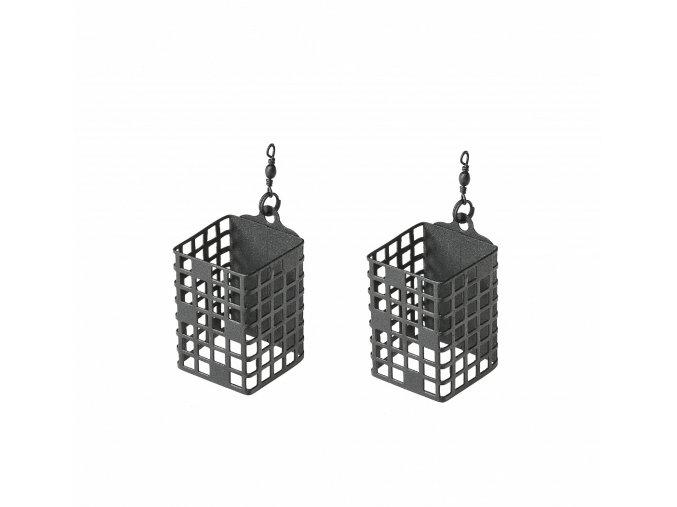 Feederové krmítko Premium Square - 2ks/bal (VARIANT 120g)