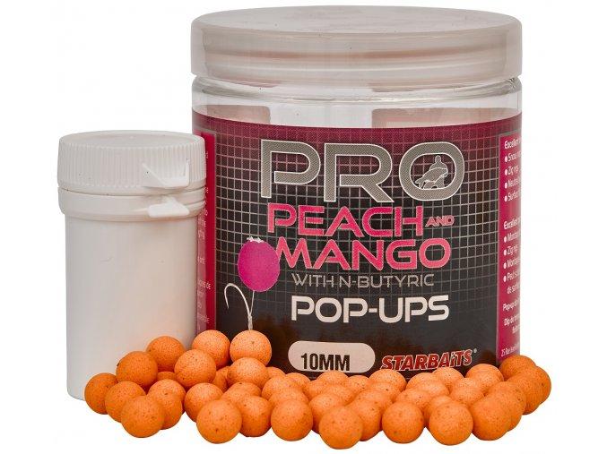 PROBIOTIC POP UP BOILIES - 10 mm/60 g (príchuť PEACH & MANGO)