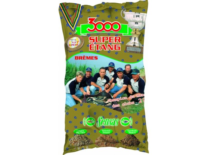 9968 3000 super lake bream pleskac jezero 1kg