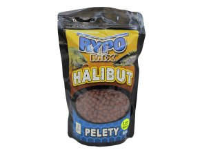 Halibut pelety chytacie Red-800 g (priemer 8 mm)
