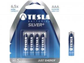 Baterie TESLA AAA Silver+