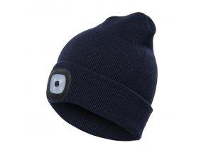 led ciapka modra
