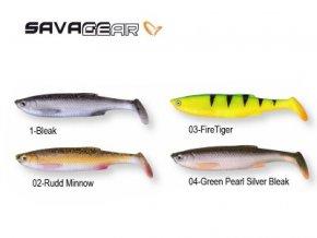 2605 2 savage gear 3d bleak paddle tail