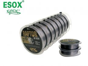 ESOX RAPTOR HI-TECH 100 m (priemer 0,24 mm)