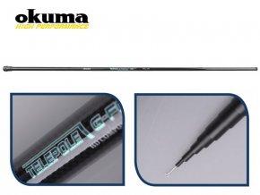 OKUMA G-FORCE TELEPOLE (dlžka 4 m)