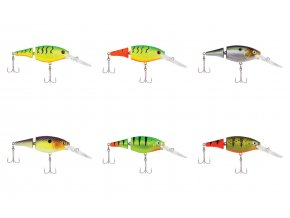 FLICKER SHAD JOINTED FIRE TAIL 7CM  (Farba ANTI-FREEZE)