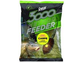 3000 METHOD FEEDER - 1KG (príchuť Carpe (kapor))