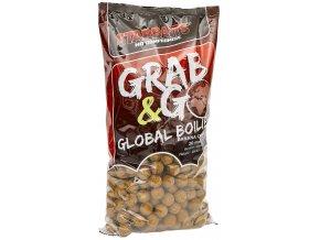 G&G GLOBAL BOILIES - 10KG (priemer 20 mm, príchuť BANANA & CREAM)