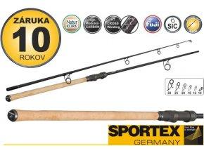 6714 sportex prut morion stalker 300cm 3 lb 2diely