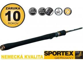 Prívlačový prút SPORTEX Curve Spin (dlžka 240 cm/60 gr)