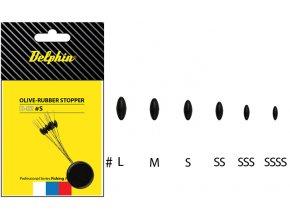 Olive - Rubber stopper-SSSS (ROZMER SSSS)