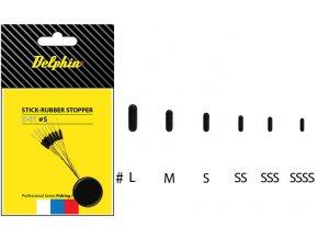 Stick - Rubber stopper-SSSS (ROZMER SSSS)