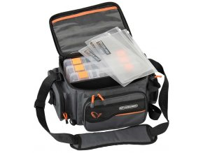 savage gear system box bag xl 3 boxes waterproof cover 1 1