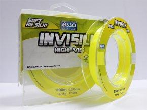 Asso Invisilk 300m 0,18mm f. fluo žltá (priemer 0,18mm)