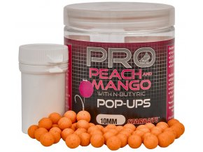 PROBIOTIC POP UP BOILIES - 10 mm/60 g (príchuť PEACH & MANGO)