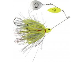 Savage Gear Da'Bush Spinnerbait 32 g (Farba Yellow Silver Holo Flame)