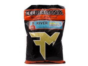 feedermania krmná zmes (príchuť Feedermania River-Garlic&N-Butric Acid)