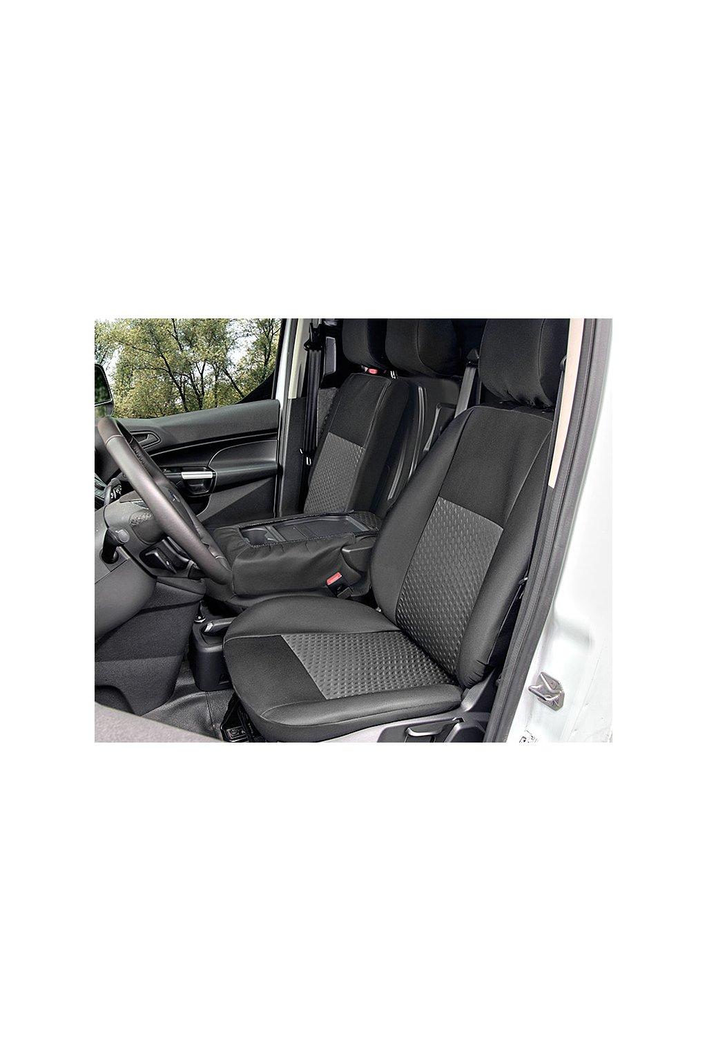 "AUTOPOTAH ""KEGEL"" Ford Transit Connect II van od 2014 TAILORE MADE CERNO-SEDY SADA 6 KS"