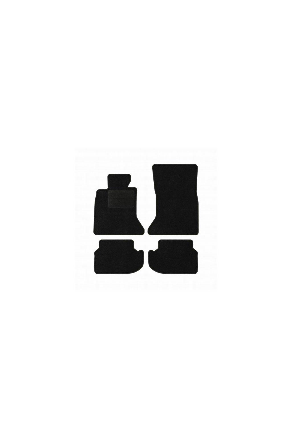 Koberce textilni ACR BMW 5 F10 2013-2017 černá