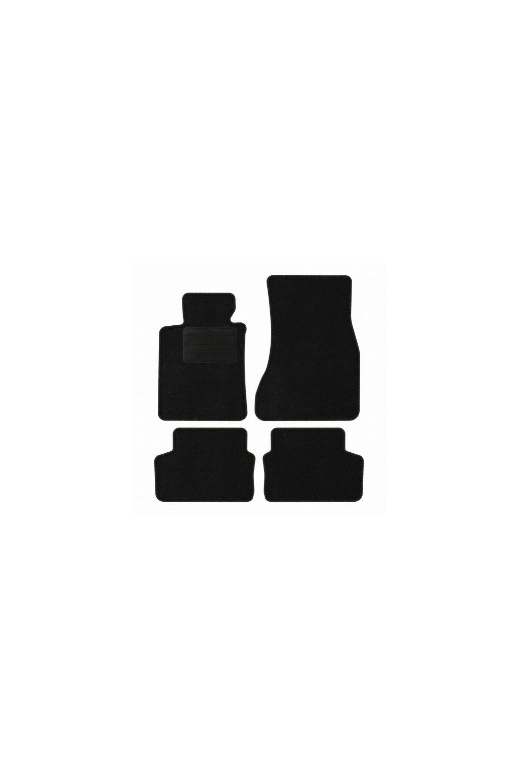 Koberce textilni ACR BMW 5 G31 2016- černá