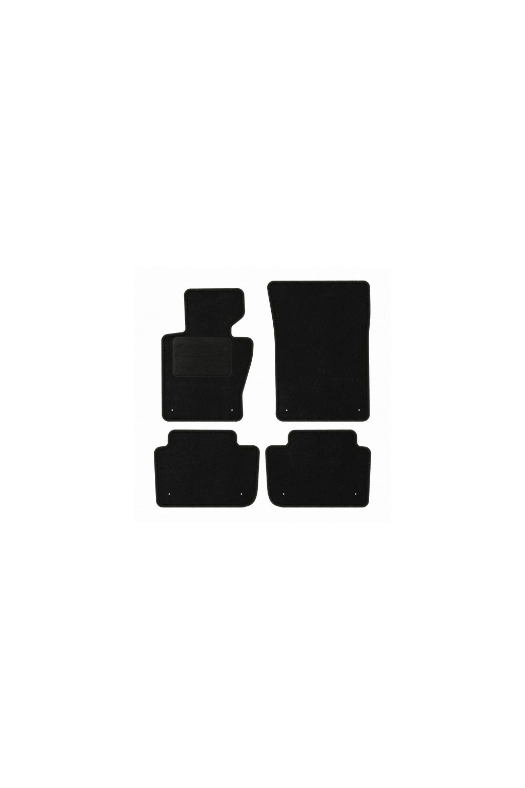 Koberce textilni ACR BMW X3 E83 2003-2010 černá