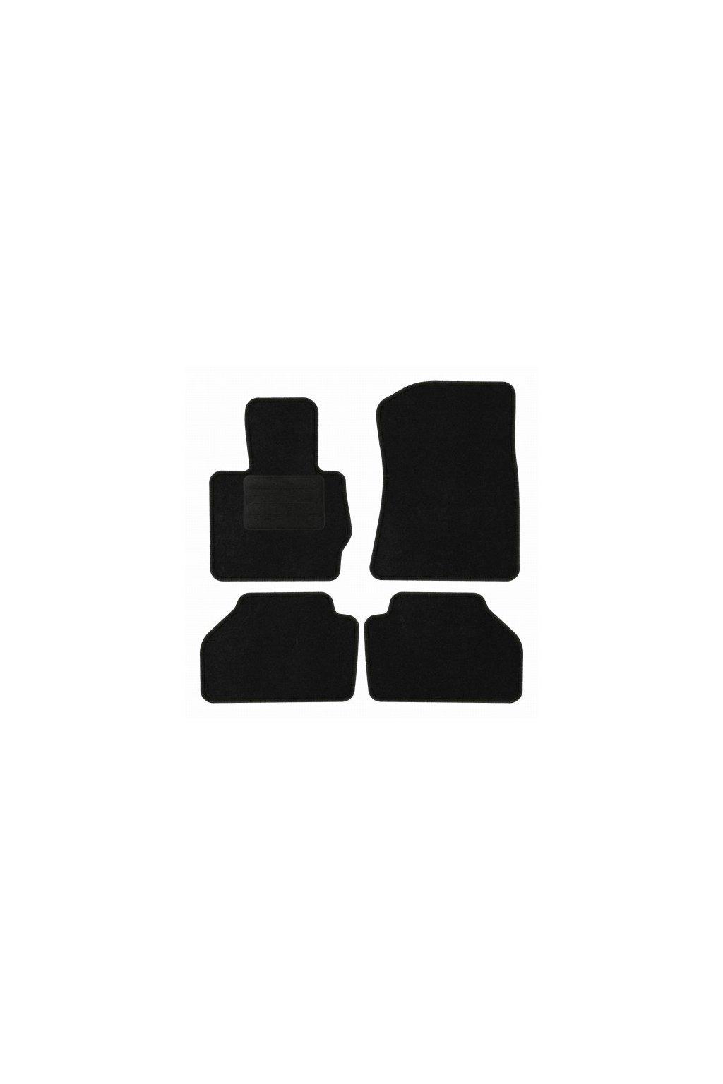Koberce textilni ACR BMW X3 F25 2010-2017 černá