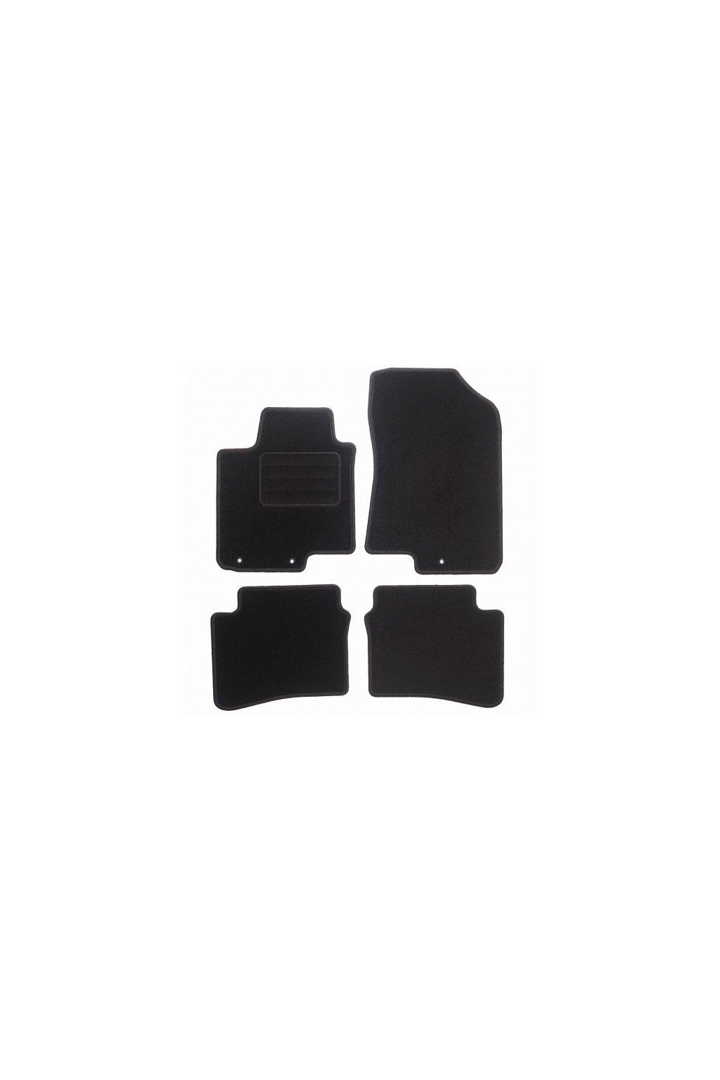 Koberce textilni ACR Hyundai i20 II 2014- černá
