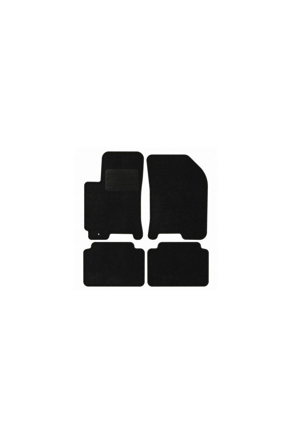 Koberce textilni ACR CHEVROLET Nubira 2004-2010 černá