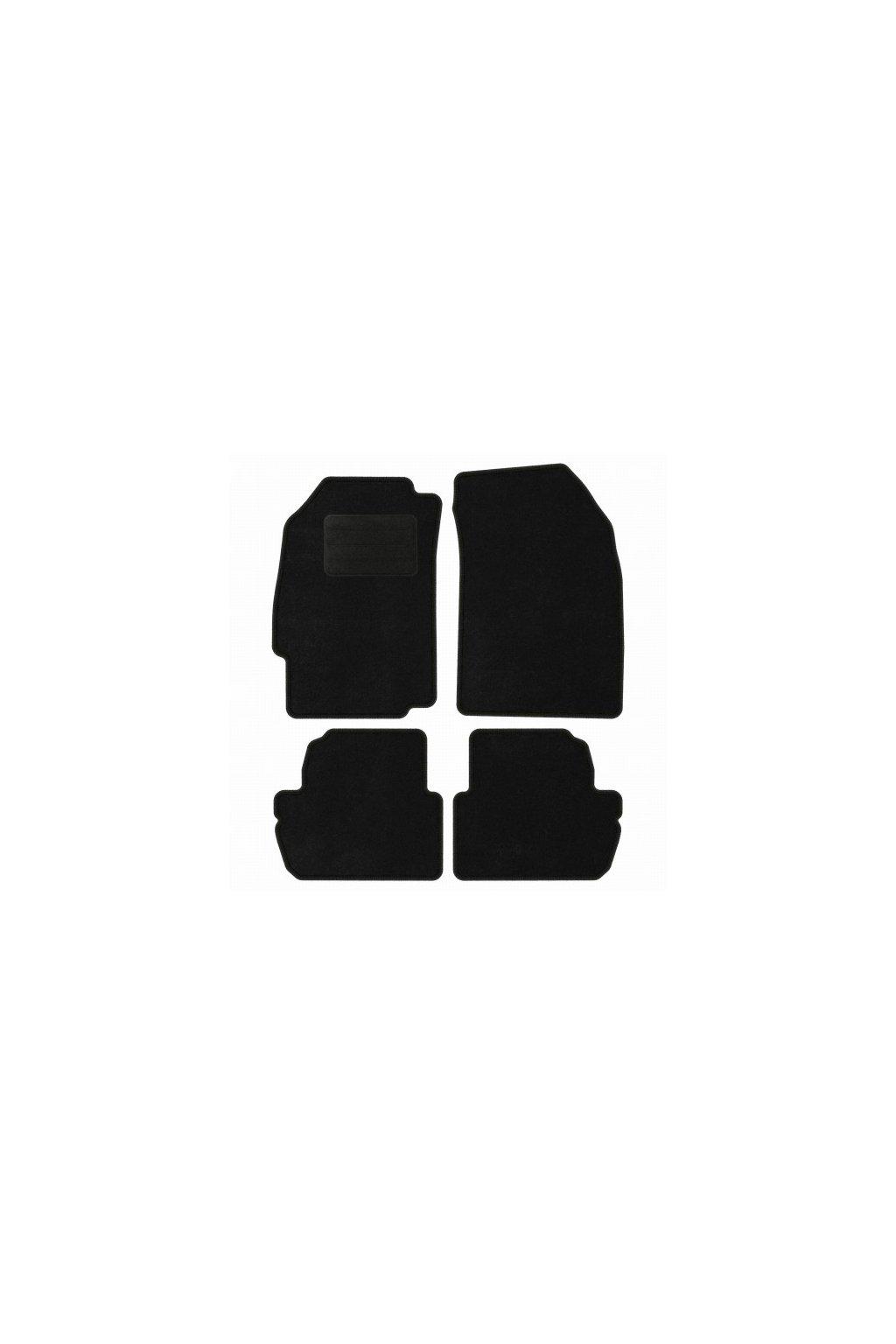 Koberce textilni ACR CHEVROLET Spark III [M300] 2009-2012 černá