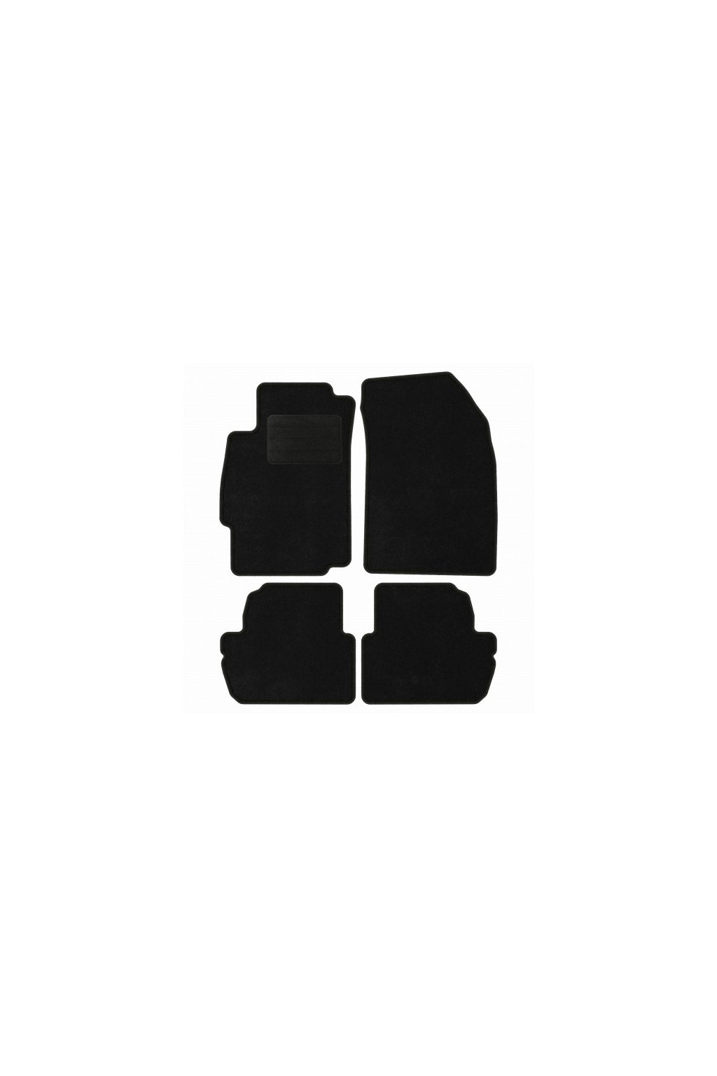 Koberce textilni ACR CHEVROLET Spark III [M300] 2012-2015 černá