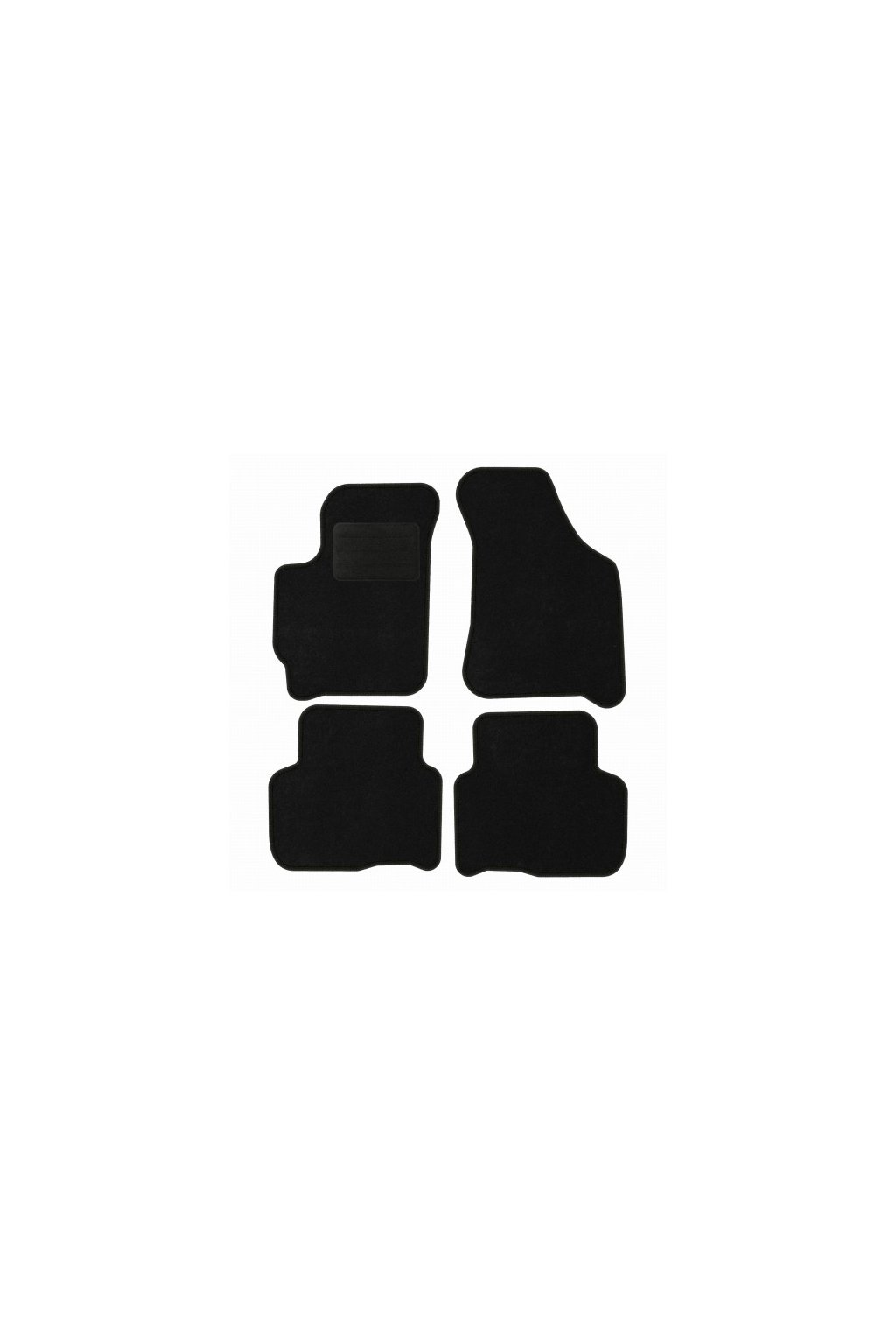 Koberce textilni ACR Kia Carens II 2002-2006 černá